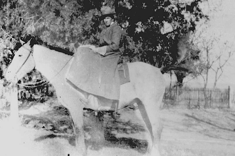 Emma-on-a-horse
