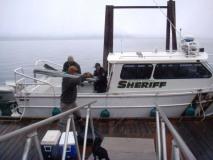 Bonner County Sheriff boat
