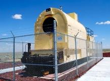 Idaho National Laboratory - TAN locomotive