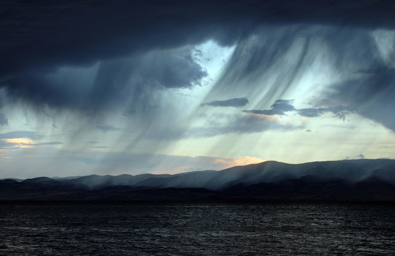 Storm over the Bear River Range