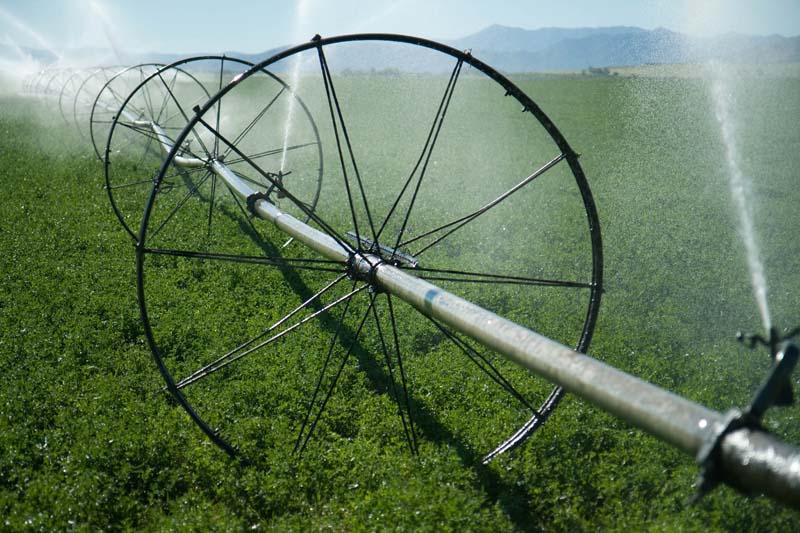 Irrigation in Idaho, USA