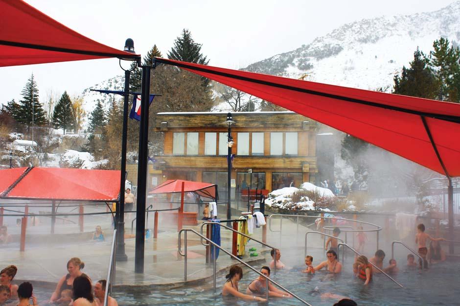 Lava Hot Springs Pools