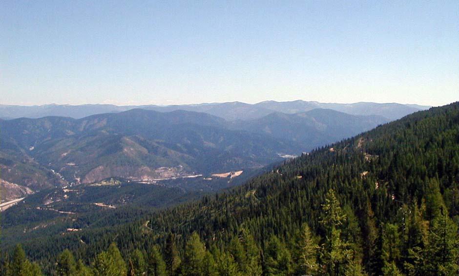 View, Silver Mountain