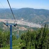 View, Silver Mtn. Gondola
