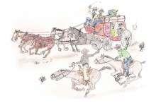 A Modern Day Stagecoach Stickup
