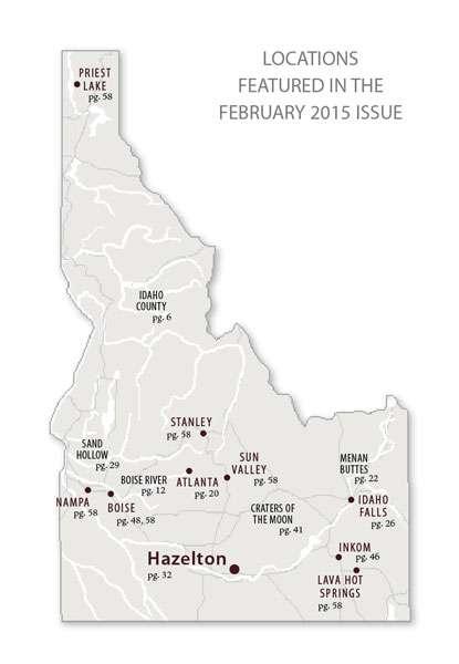 February 2015 Map Idaho Magazine