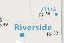 Riverside, Idaho location map