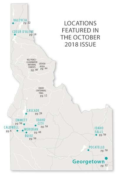 October 2018 Map | IDAHO magazine on