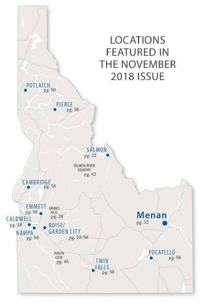 November 2018 Map Idaho Magazine